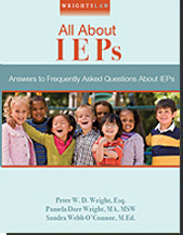 Photo of Book: All About IEPs - Answers to Frequently Asked Questions