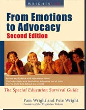 Photo of Book: Wrightslaw - From Emotion to Advocacy